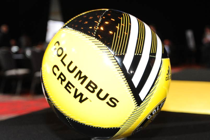 Columbus Crew soccer ball