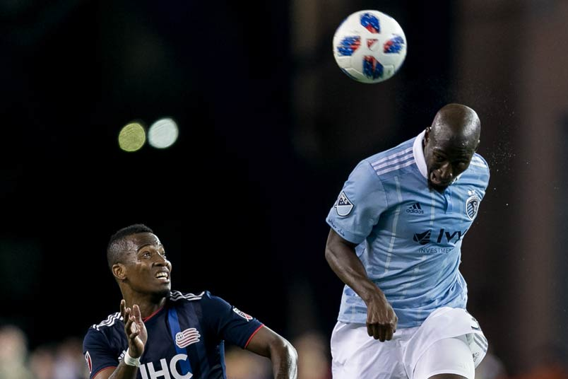 Sporting Kansas City defender Ike Opara