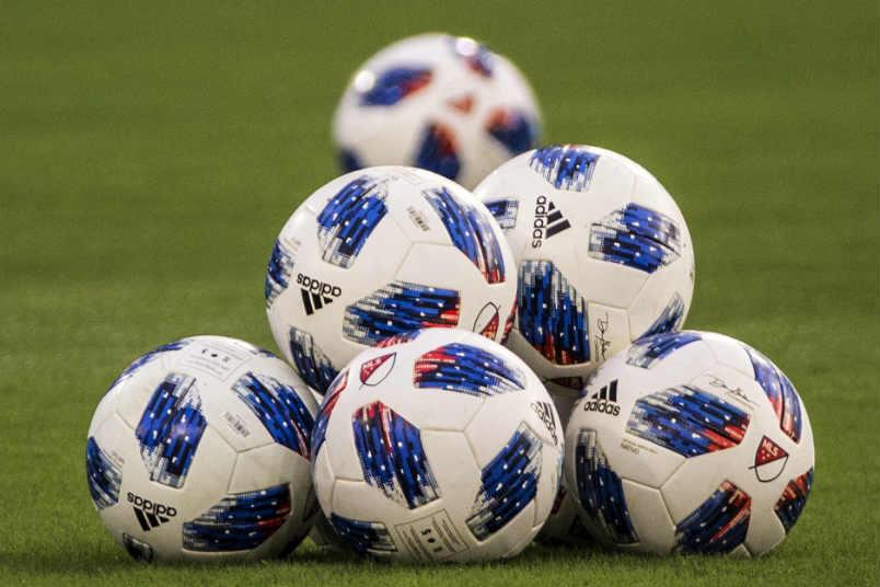 MLS soccer balls