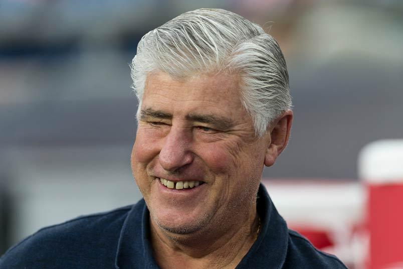 Galaxy coach Sigi Schmid