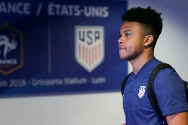 US Soccer player Weston McKennie
