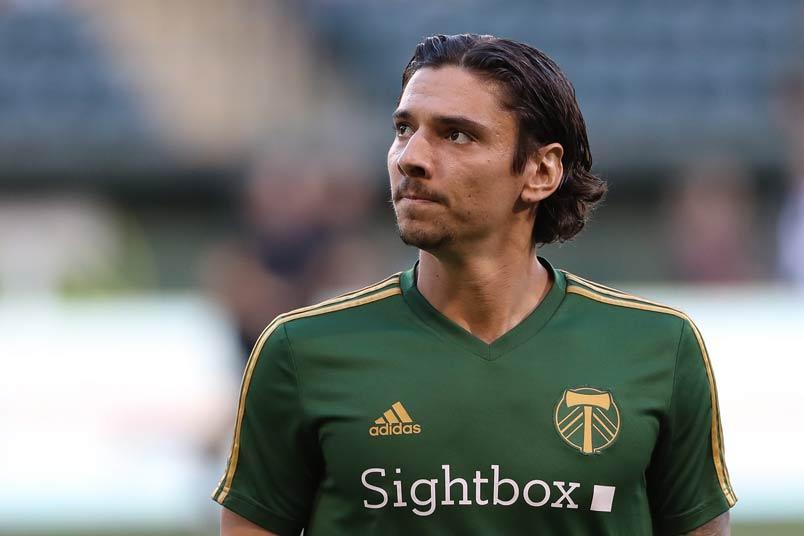 Portland Timbers soccer player Zarek Valentine