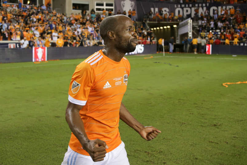 DaMarcus Beasley US Open Cup celebration