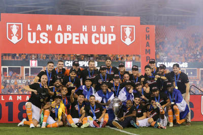 Houston wins the US Open Cup