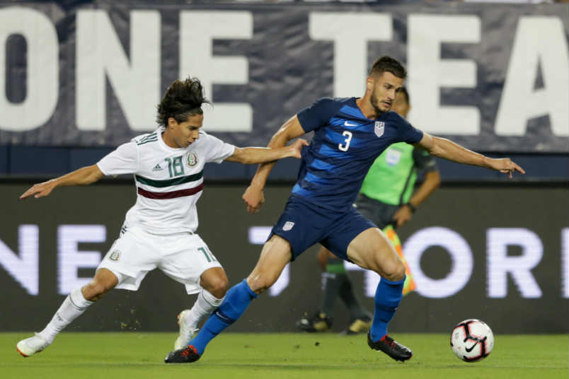 USMNT player Matt Miazga