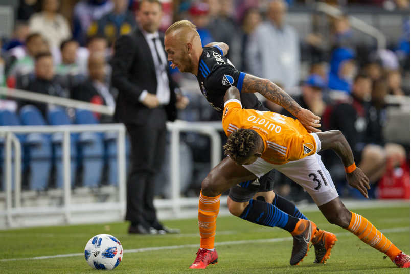 San Jose Earthquakes vs Houston Dynamo