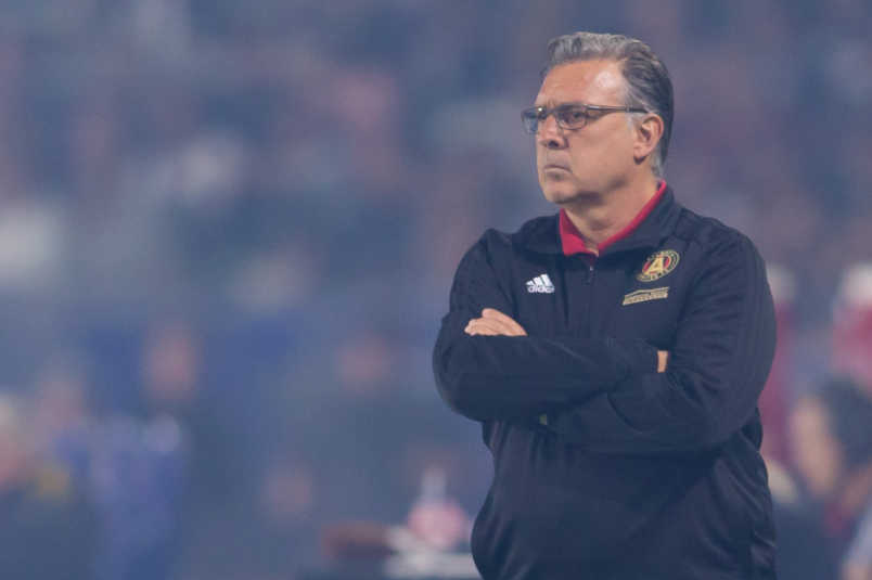Atlanta United coach Tata Martinez