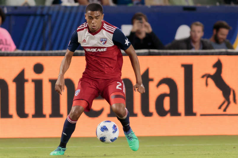 FC Dallas defender Reggie Cannon