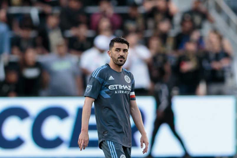 David Villa NYCFC
