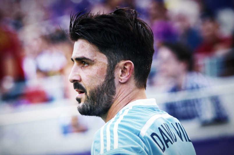 David Villa debut