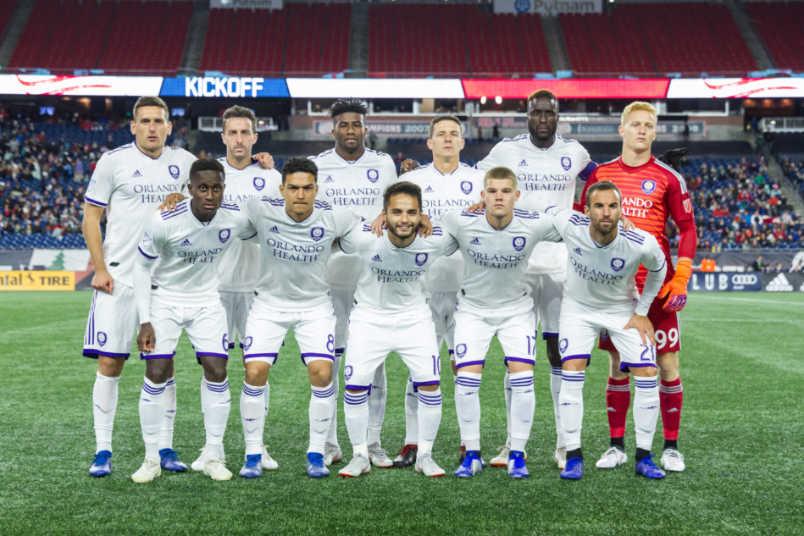 Orlando City lineup