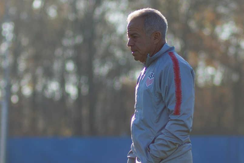 USMNT coach Dave Sarachan November 2018
