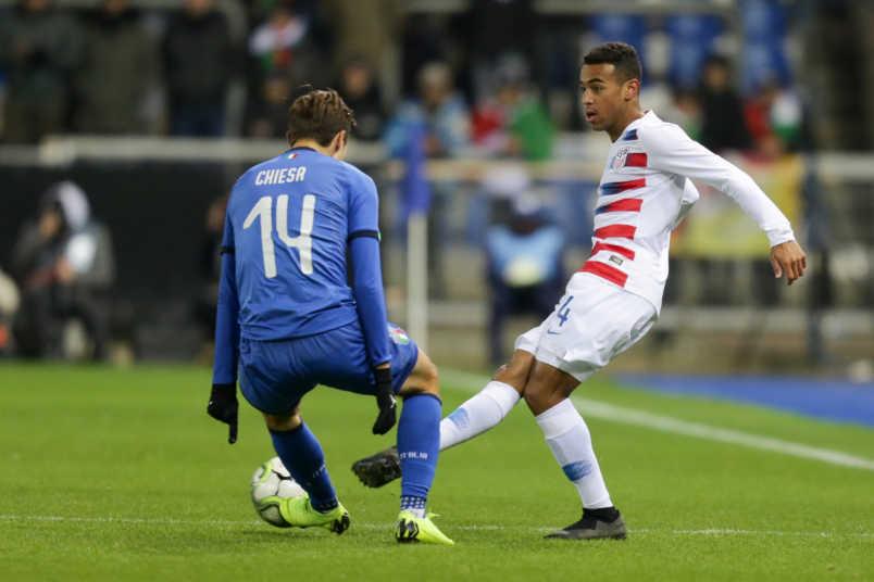 USMNT midfielder Tyler Adams