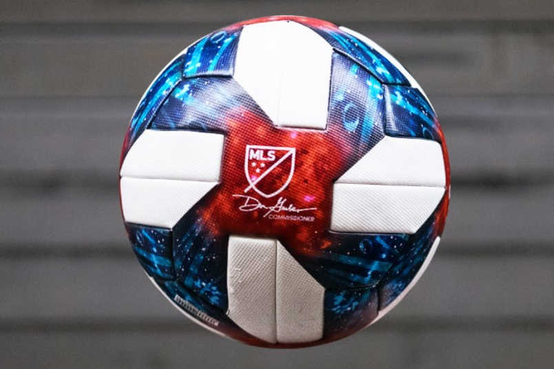 2019 MLS soccer ball