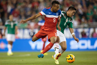 Marco Fabian and Mexico players in MLS