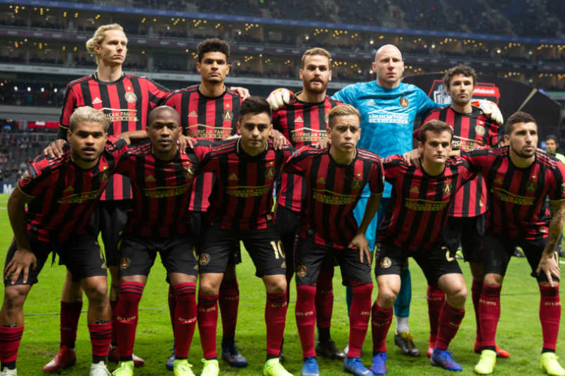 Atlanta United champions league lineup