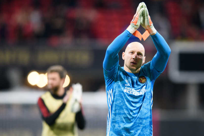 brad guzan atlanta united concacaf champions league