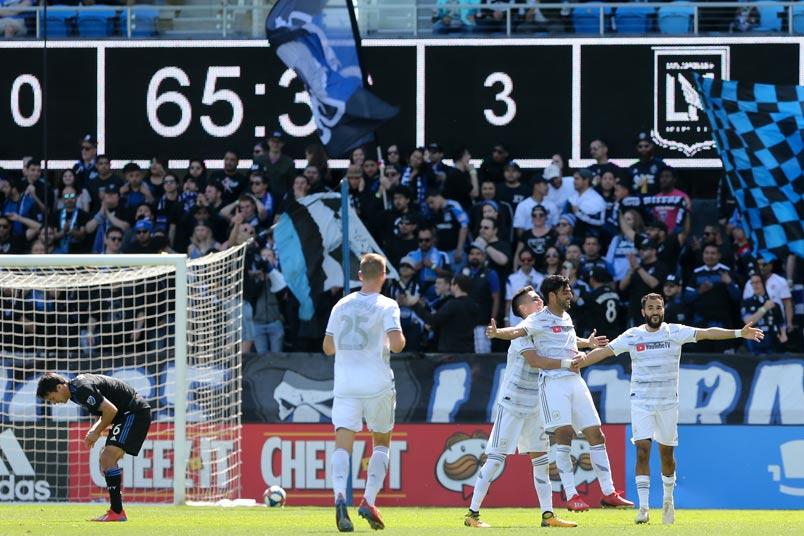 Carlos Vela goal celebratiom