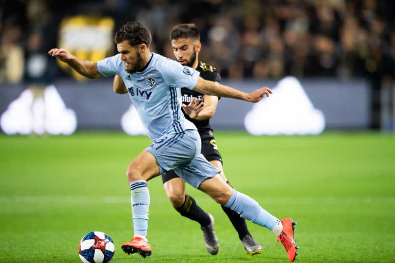graham zusi and diego rossi sporting kc and lafc