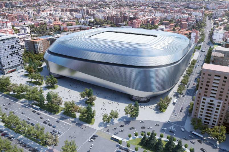 real madrid stadium rendering