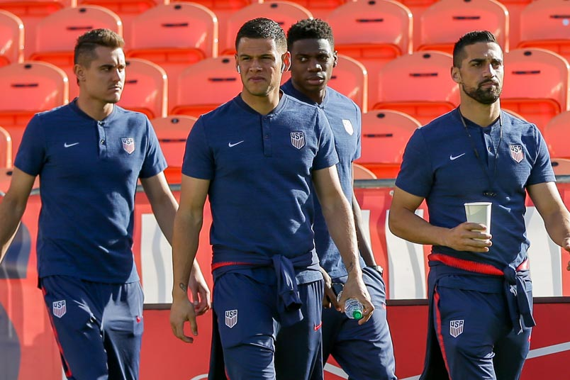 usmnt players bbva compass stadium