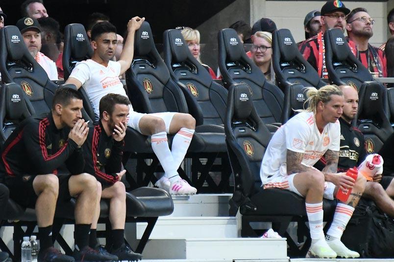 pity martinez atlanta united bench