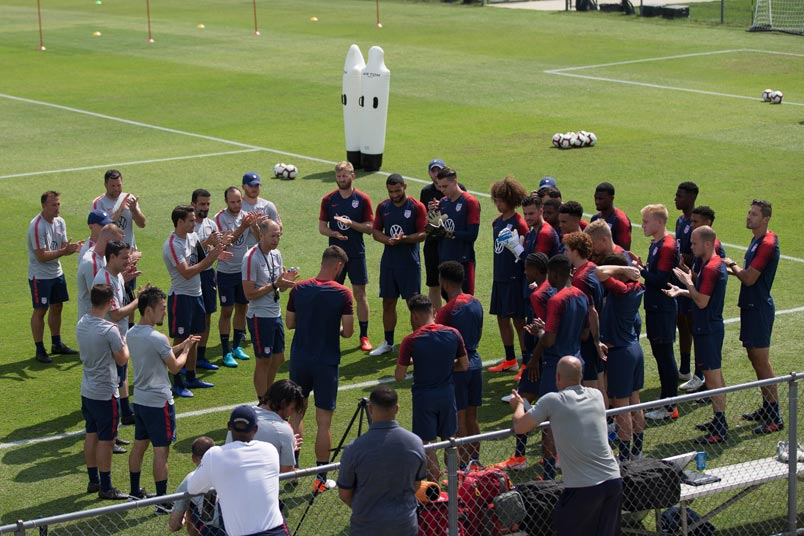 usmnt training session annapolis