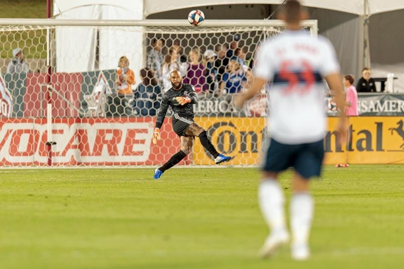 Colorado Rapids goalkeeper Tim Howard