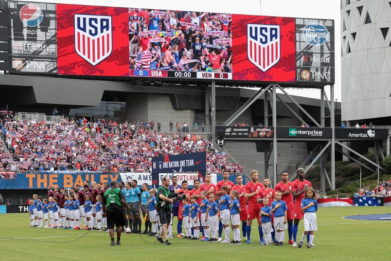 usmnt anthem nippert stadium