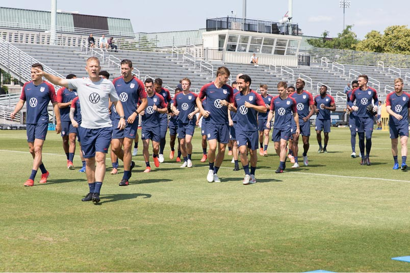 usmnt training session june 3 2019