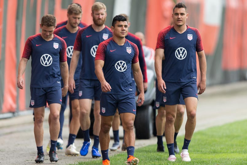 usmnt training session july 20 2019