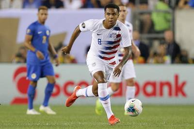 McKennie takes another step for American soccer players