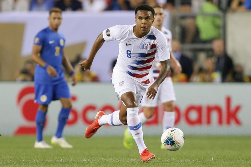 weston mckennie usmnt vs curacao