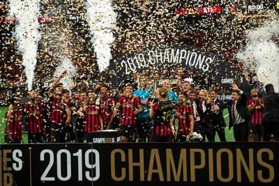 Atlanta lifts the Campeones Cup