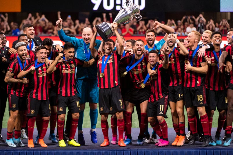 atlanta united us open cup celebration