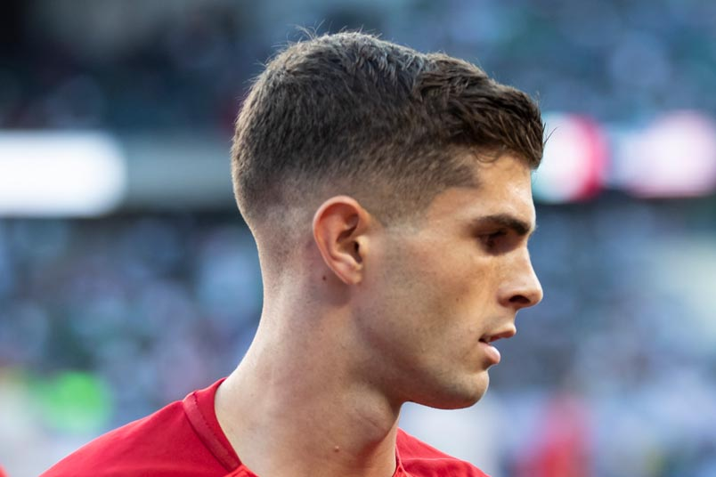 christian pulisic usmnt chelsea soccer player