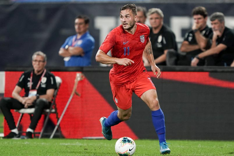 jordan morris usmnt uruguay friendly