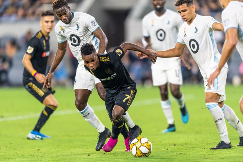latif blessing lafc minnesota united