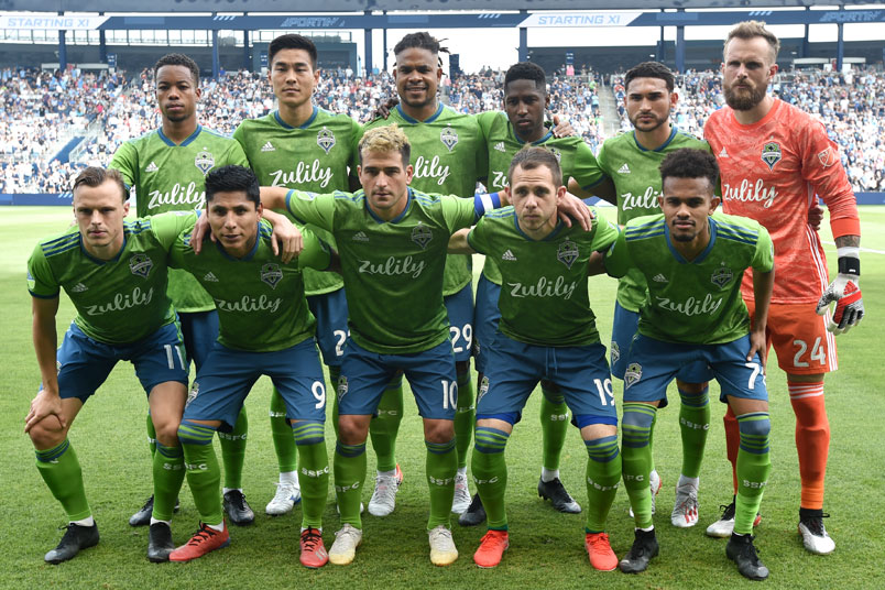 seattle sounders squad