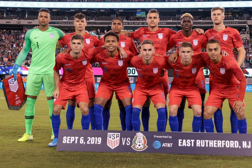 usmnt squad mexico friendly