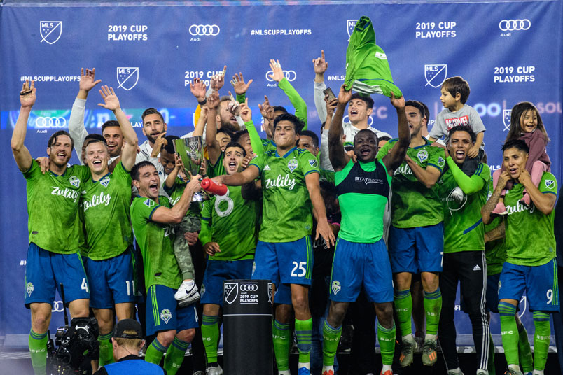 seattle sounders western conference playoff champions