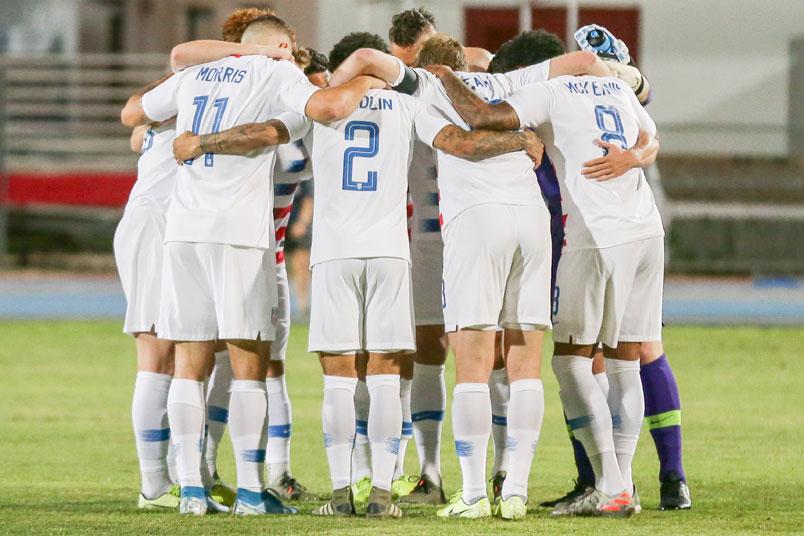 usmnt huddle cuba nations league