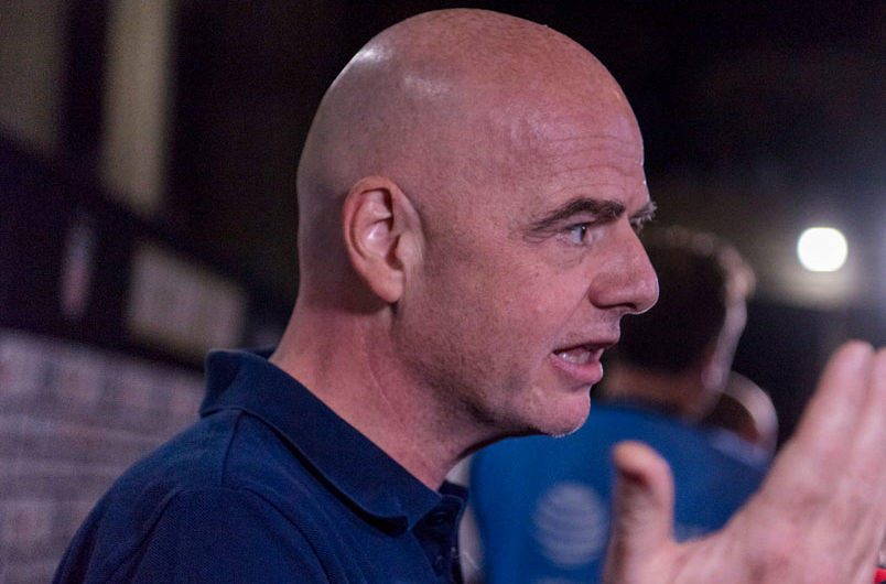 Infantino asks about salary caps