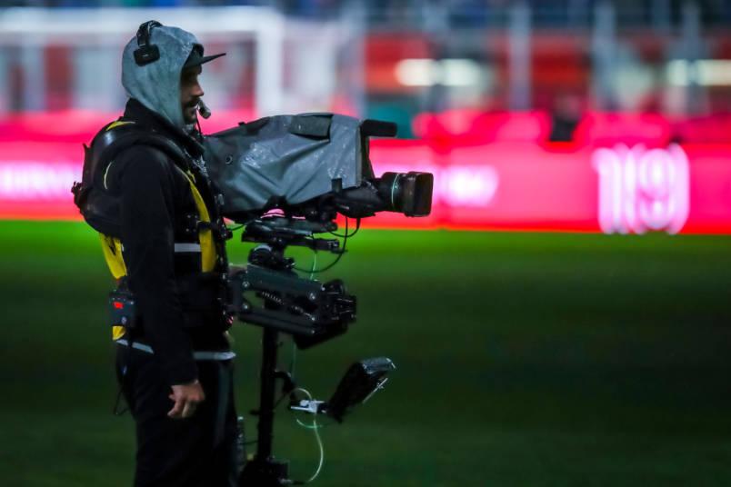camera operator soccer