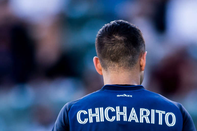 chicharito hernandez la galaxy