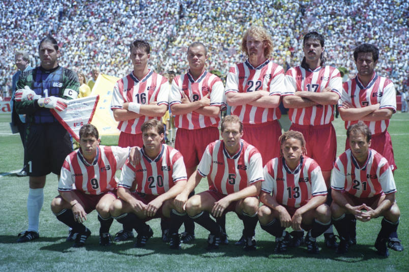 1994 usmnt squad vs brazil