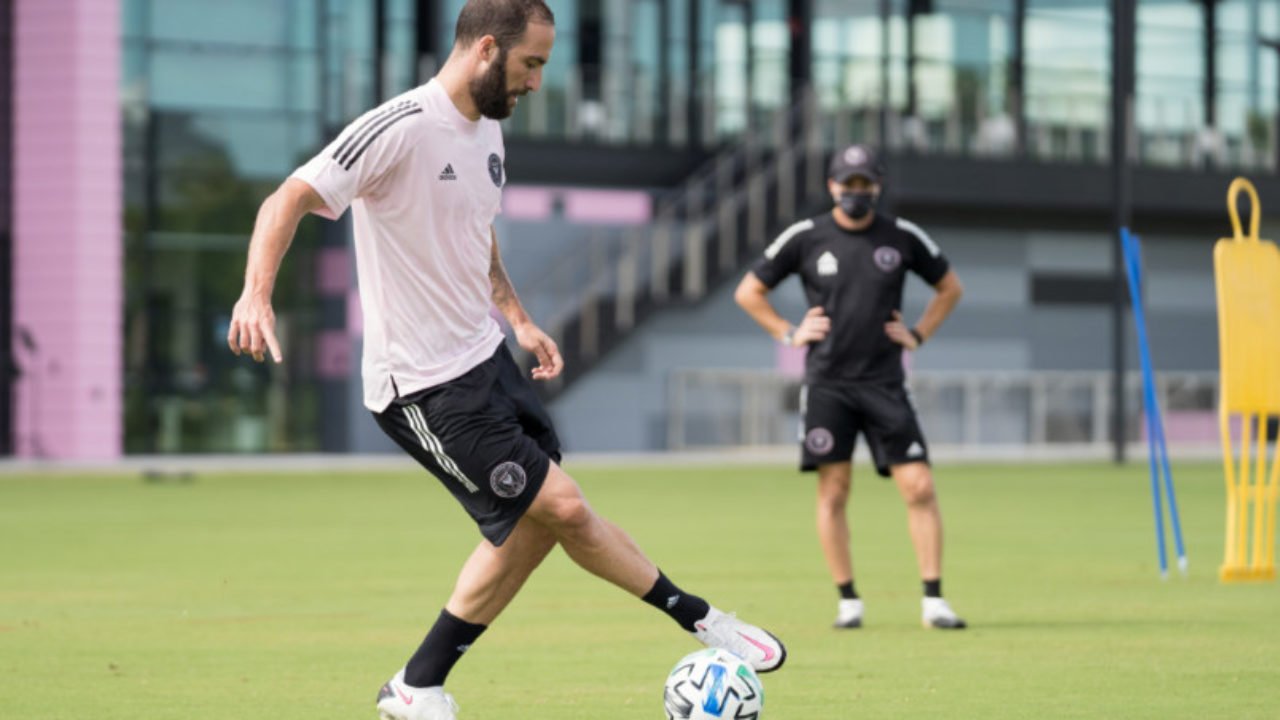 Higuain S Inter Miami Debut Us Soccer Players