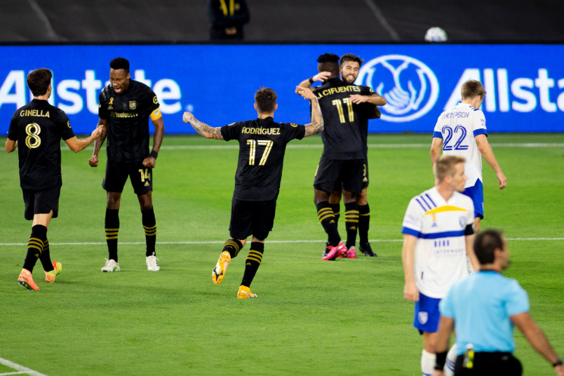 san jose earthquakes lafc game action