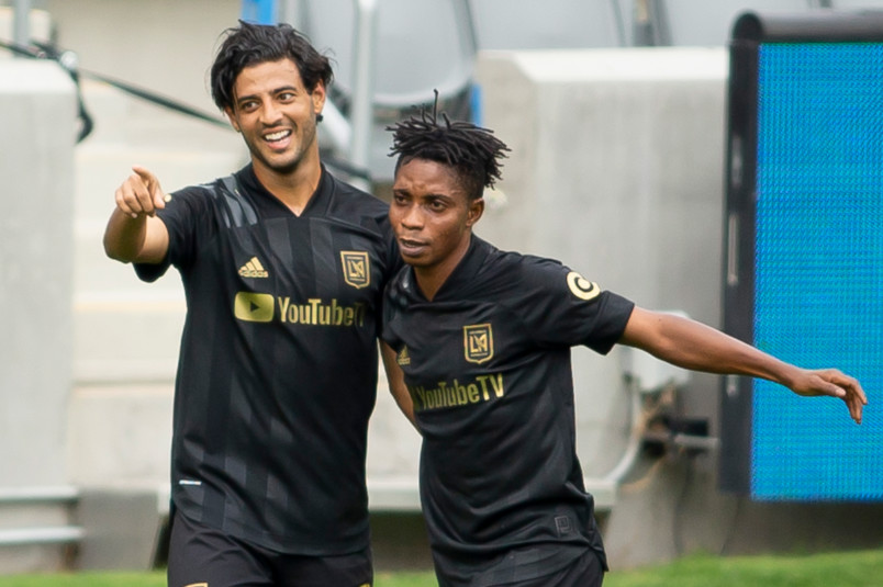 carlos vela returned from injury and scored for lafc