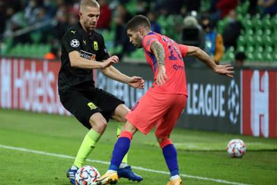 Pulisic scores in Chelsea win at Krasnodar